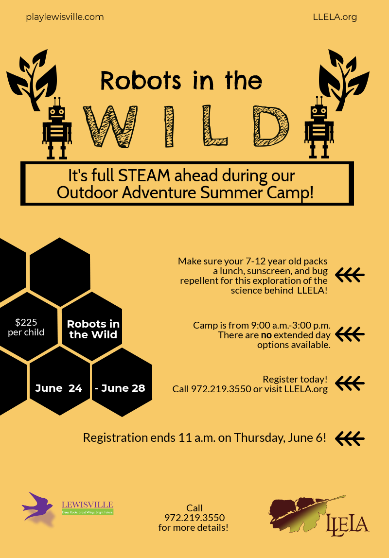 Summer Camp flyer week 3