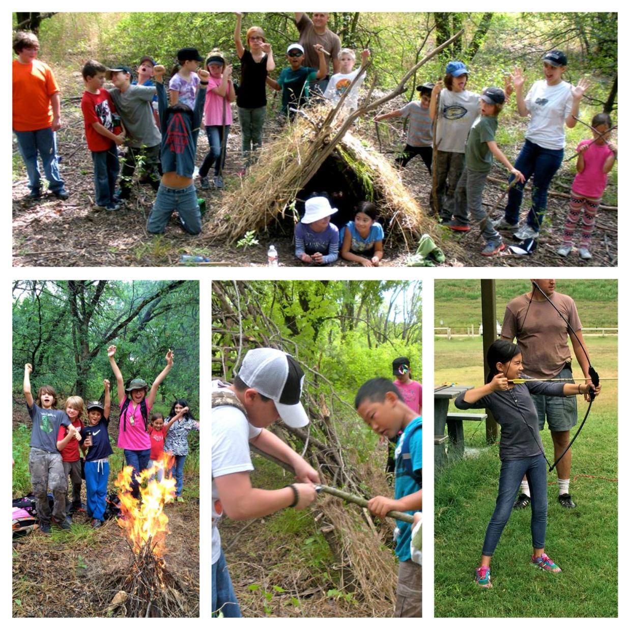 Indian Wilderness Survival Skills: Kids' Wilderness Survival Camp 2018